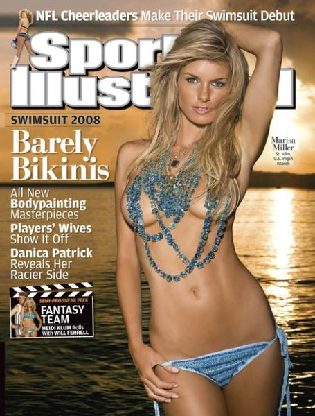 49 years of Sports Illustrated swimsuit cover models: 2008: Marissa Miller