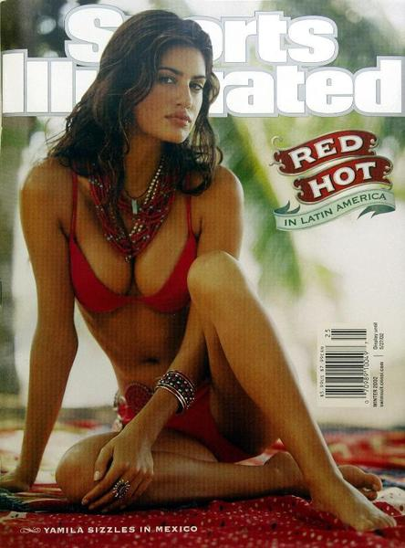 49 years of Sports Illustrated swimsuit cover models: 2002: Yamila Diaz
