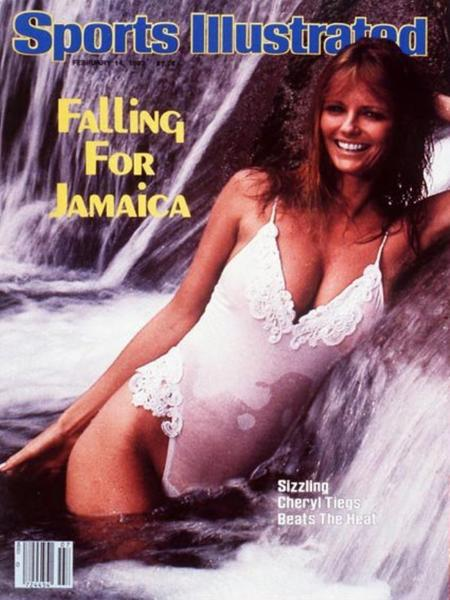 49 years of Sports Illustrated swimsuit cover models: 1983, 1975, 1970: Cheryl Tiegs