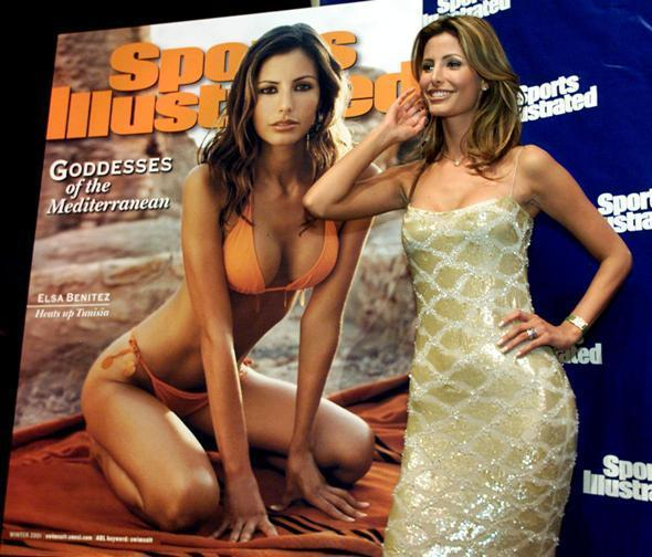 49 years of Sports Illustrated swimsuit cover models: 2001: Elsa Benitez