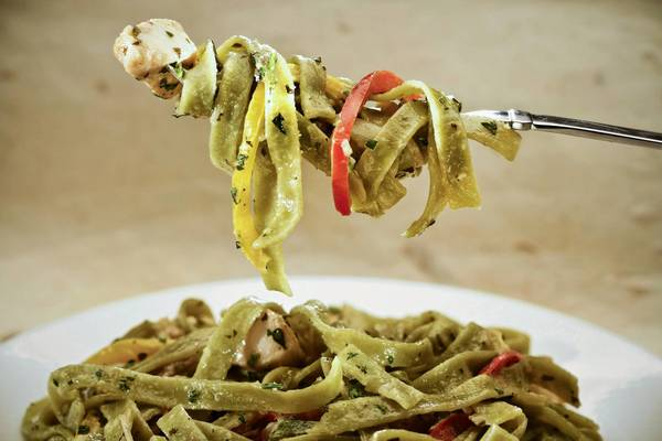 California Pizza Kitchen's chicken tequila fettuccine