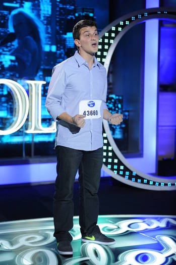 "Vangelis ""Van"" Dimopoulos, a student at the College of William and Mary, made it to the Hollywood round of ""American Idol,"" but was eliminated."