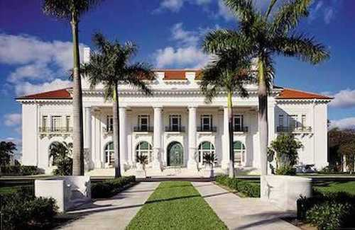 Whitehall was the winter home of Henry Flagler from 1902-1913.
