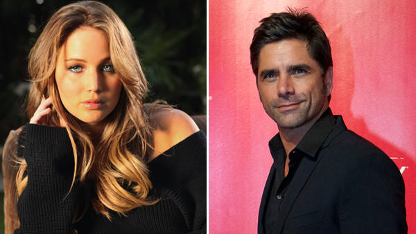 "Jennifer Lawrence has revealed one of her celebrity crushes: John Stamos of ""Full House"" fame.  In a Tuesday appearance on ""Conan,"" the always-unpredictable Oscar nominee said Uncle Jesse was the one celebrity who completely blew her mind. She bumped into him at a party and could not stop staring at his behind.  ""He was at a party, and I turned into the most perverted guy,"" Lawrence said. ""I lost my mind when I met him — and I didn't want to meet him because it's not good when I meet people who I really idolize. It's just never good — and so I was avoiding him, but then my friends brought him over because my friends are jerks, and I started really freaking out, and he asked me if I was on mushrooms and I was like, 'No. I'm dead sober. This is just me.'""  <br><br> <strong>Full story:</strong> <a href=""http://www.latimes.com/entertainment/gossip/la-et-mg-jennifer-lawrence-john-stamos-conan-abercrombie-20130206,0,5009582.story"">Jennifer Lawrence ogles an 'oblivious' John Stamos</a>"