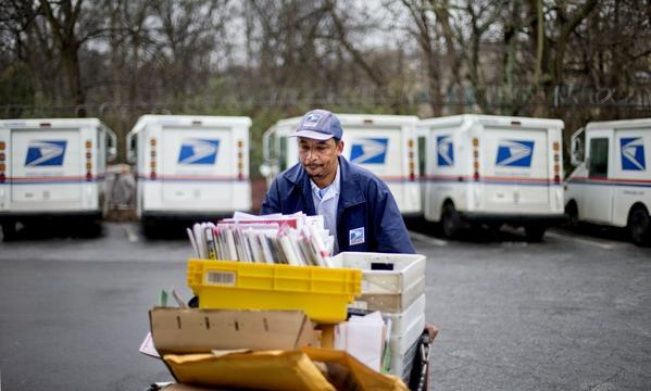 Mail carrier in Atlanta