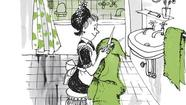 Peggy Parish, author of the original Amelia Bedelia books that tickle children with their literal translations and mischievous wordplay, shared a bit of the fictional housekeeper's innocence in her real-world encounters.