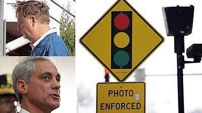 City dropping red-light camera firm as probe heats up