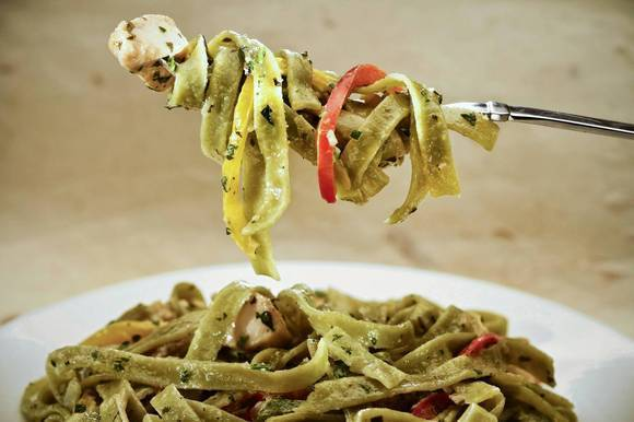 This week's Culinary SOS: Chicken tequila fettuccine