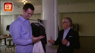 VIDEO Ravens' Flacco gets fitted for fashion show