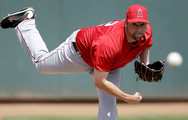 Former Angels pitcher Matt Palmer will try to make the Dodgers roster this spring.
