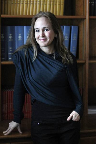 """Dana Suskind talked about the inspiration she draws from author Daniel Kahneman, who wrote, """"Thinking, Fast and Slow"""" (Farrar, Straus and Giroux). """"I've got his autographed picture on my desk,"""" she says. """"His eloquent work describes just how little we know about ourselves, our biases and our behaviors. He teaches us that only by thoroughly understanding the person looking back at us from the mirror can we improve ourselves as individuals and as a society."""""""