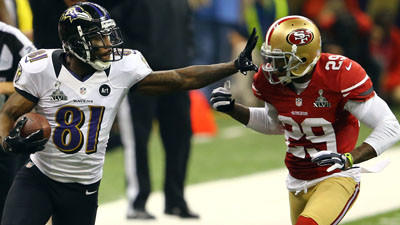 Boldin says Flacco was serious about tackling Ted Ginn