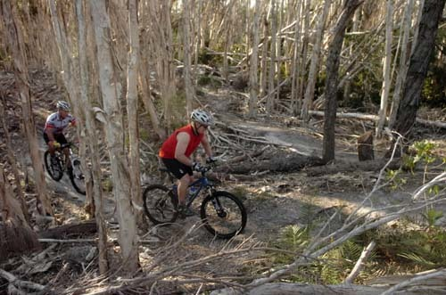 Florida Getaways of the Day - <b>Markham Park:</b> Tough terrain for cycling