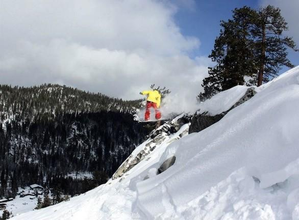 China Peak Mountain Resort in the Sierra north of Fresno tops out at 8,700 feet.