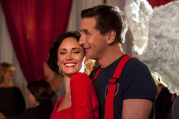 "At the fireman's ball, a single dad (Billy Baldwin) finds love in the new holiday romance ""Be My Valentine"" at 9 and 11 p.m. on the Hallmark Channel. With Natalie Brown."
