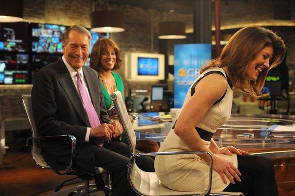 White House correspondent Norah O'Donnell, right, joined the show in July, burnishing the show's hard-news credentials.