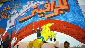 Artists in Egypt work in a tense atmosphere