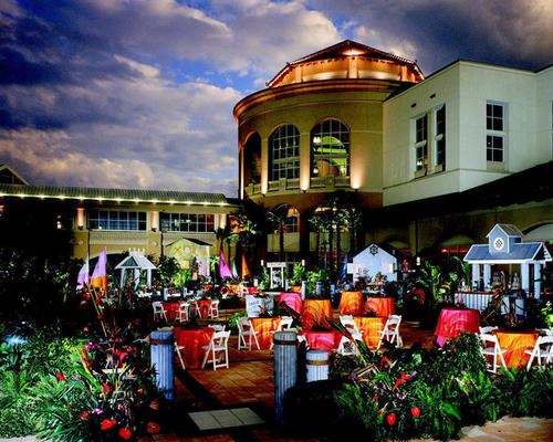 The Villa Flora restaurant at the Gaylord Palms resort in Kissimmee.