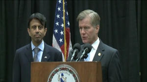 Jindal touts education reforms, supports McDonnell proposals