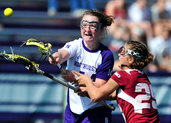 Kelly Rich in action against UMass last year.