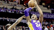 Lakers overcome 20 point deficit to defeat Bobcats, 100-93