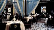 With its Tiffany blue and chocolate brown décor, Prime at Bellagio is one of Las Vegas' most elegant steakhouses.