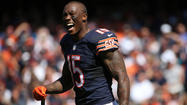 Brandon Marshall in action