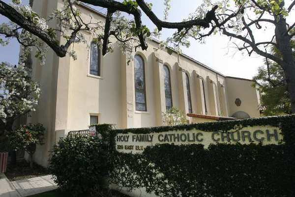 Holy Family Catholic Church in Glendale.