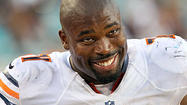 Israel Idonije in action