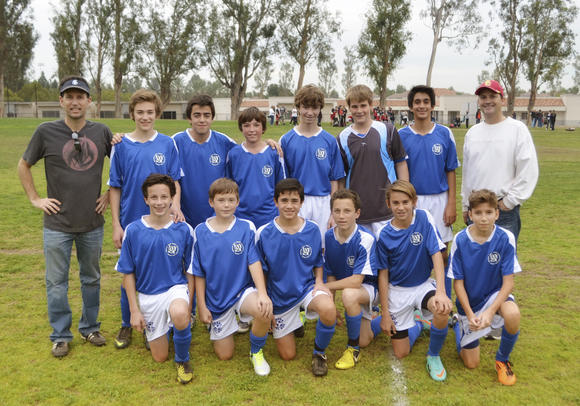 The Corona del Mar boys' 14-and-under team won an Area All-Star Tournament title with an unbeaten run.