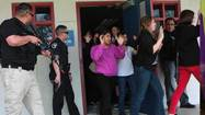 Active-shooter drill preps school, law enforcement for emergency