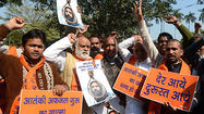 NEW DELHI -- India executed Mohammad Afzal Guru on Saturday, an Indian national from divided Kashmir convicted of providing logistical support for a notorious 2001 attack on parliament that killed at least seven people and fanned regional tension.
