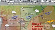 "<span style=""font-size: medium;"">PIERRE, S.D. - A major winter storm is expected to bring freezing rain, heavy snow and strong winds across much of South Dakota over the weekend.</span>"
