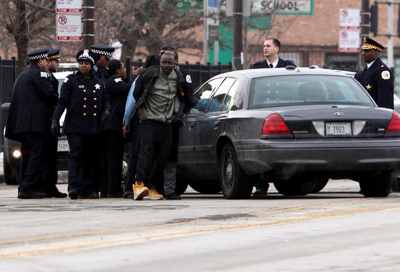Altercation at Hadiya Pendleton funeral