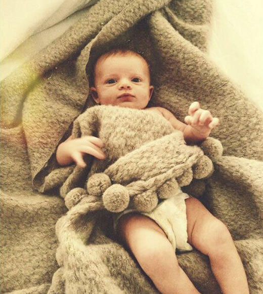 Celebrities' baby Twitpics: From Miranda Kerr to David Beckham: Baby of Nathan Followill and Jessie Baylin.