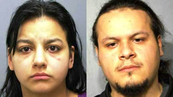 Priscilla Forys, left, and Julian Hernandez