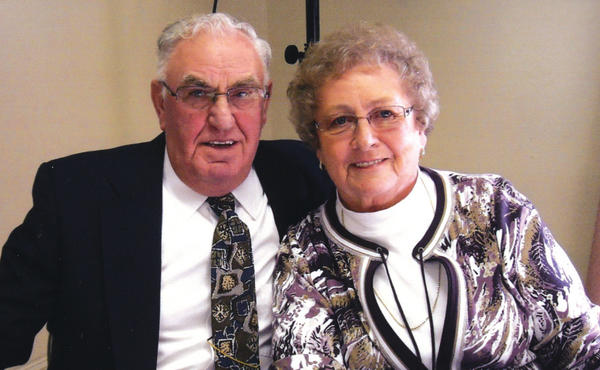 Charles and Edith Sword celebrated 50 years of marriage.