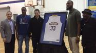 UCF senior Keith Clanton had his high school jersey retired in a ceremony on Friday at Orlando Christian Prep.