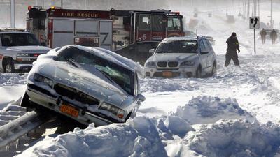Winter storm hits Northeast