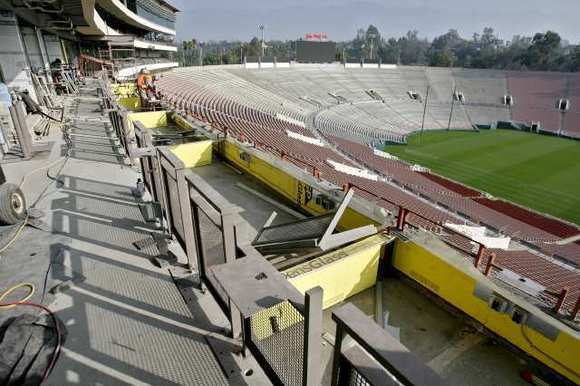 Rose Bowl renovation project