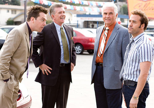Ed Helms, Alan Thicke, James Brolin, and Jeremy Piven
