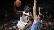 <b>Photo gallery:</b> Hurricanes rout Tar Heels