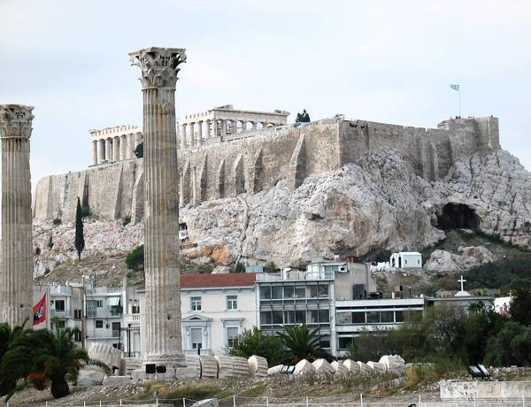 Athens, Greece is just one of the many stops on the Mediterranean cruise offered by Cruise Time.