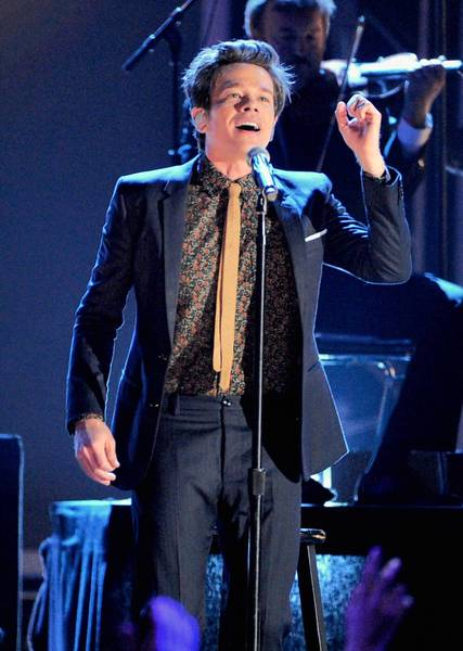fun., with lead singer Nate Ruess, is up for six Grammys and should win them all.