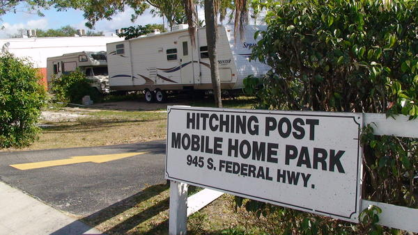 Neighbors claim 16-year fugitive Danny Foster failed to keep a low profile while hiding out in a Dania Beach trailer park