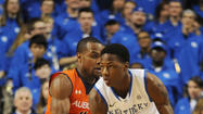 LEXINGTON - For the first time this season, freshman Archie Goodwin played less than 20 minutes in Saturday's 72-62 win over Auburn.