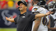 Standing in front of his players in the team auditorium on Halloween morning, Ravens coach John Harbaugh was convinced he had the right response for an embarrassing 43-13 loss to the Houston Texans. On the Ravens' first day back from a bye week, he told players, they would have a full-contact practice.
