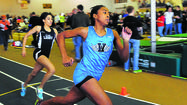 Williamsport's athletes experienced the full range of emotions during Saturday's Maryland Class 2A West indoor track and field championships at the HCC athletic complex.