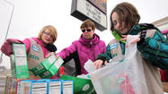 Thin Mints, Caramel Delights, Peanut Butter Patties and a host of classic cookies finally returned to Aberdeen Saturday.