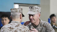 Marine takes over as U.S. commander in Afghanistan